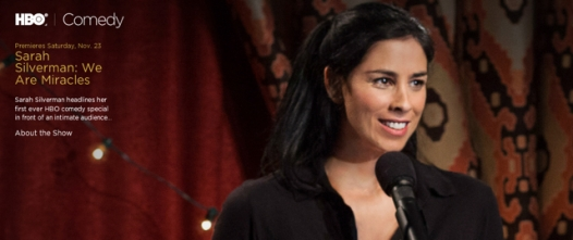 Sarah Silverman's comedy special,